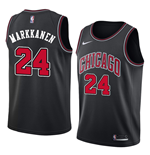 Camiseta Chicago Bulls Lauri Markkanen Nike Statement Edition Réplica