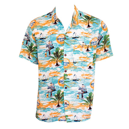 Camisa Light Where's The Beach Men's Aloha Tropical de hombre
