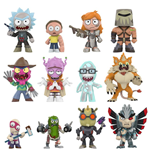 Rick y Morty Mystery Mini Minifiguras 5 cm Expositor Series 2 (12)