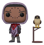 Destiny POP! Games Vinyl Figura Hawthorne w/ Hawk 9 cm