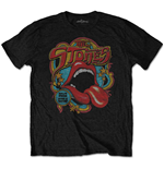 Camiseta The Rolling Stones de hombre - Design: Retro 70s Vibe (Soft-Hand Inks)