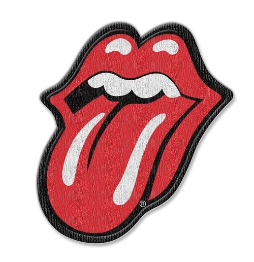 Parche The Rolling Stones - Design: Classic Tongue