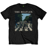 Camiseta The Beatles Abbey Road & Logo (Retail Pack)