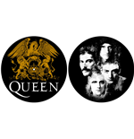 Slipmat Queen - Design: Crest & Faces