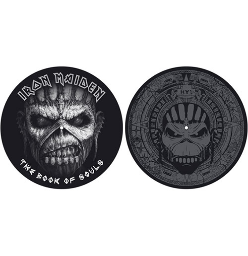 Slipmat Iron Maiden - Design: The Book Of Souls