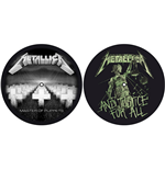 Slipmat Metallica - Design: Master of Puppets / and Justice for All