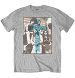 Camiseta Black Sabbath de hombre - Design: Blue Cross