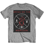 Camiseta Bring Me The Horizon de hombre - Design: Heart & Symbols