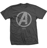 Camiseta Marvel Superheroes de hombre - Design: Avengers Infinity War A Icon