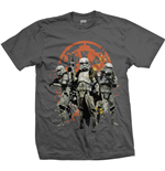Camiseta Star Wars de hombre - Design: Solo Troopers Comp