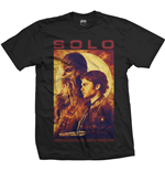 Camiseta Star Wars de hombre - Design: Solo Profile