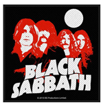 Parche Black Sabbath - Design: Red Portraits