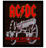 Parche AC/DC - Design: For those about to Rock