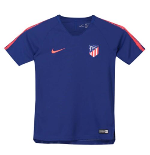 Camiseta Atlético Madrid 2018-2019 (Azul Real)