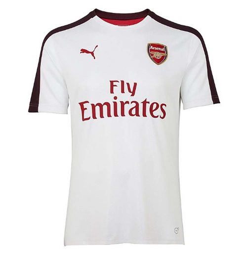 Camiseta 2018/2019 Arsenal 2018-2019 (Blanco)