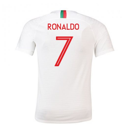 Camiseta 2018/2019 Portugal Fútbol 2018-2019 Away (Ronaldo 7)