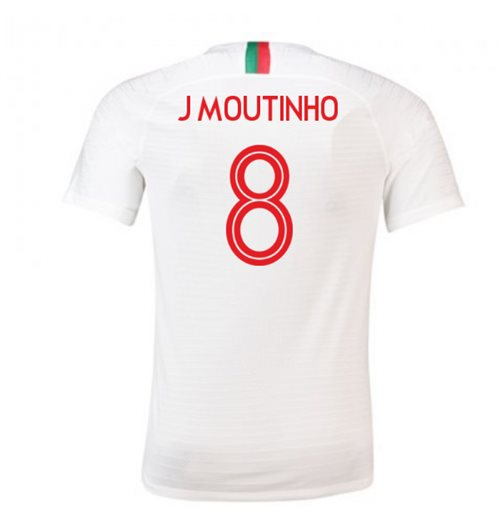 Camiseta 2018/2019 Portugal Fútbol 2018-2019 Away (J Moutinho 8)