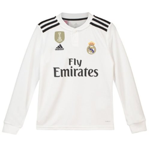 95af17c1 Compra Camiseta Manga Larga Real Madrid 2018-2019 Home Original