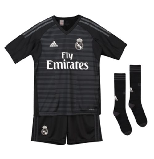 Mini Conjunto Portero Real Madrid 2018-2019 Home de niño