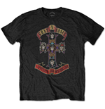 Camiseta Guns N' Roses de hombre - Design: Appetite for Destruction