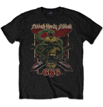 Camiseta Black Sabbath de hombre - Design: Bloody Sabbath 666