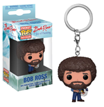 The Joy of Painting Llavero Pocket POP! Vinyl Bob Ross 4 cm