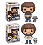 The Joy of Painting Figuras POP! Television Vinyl 9 cm Bob Ross with Raccoon Surtido (6)