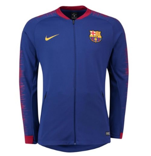Compra Chaqueta FC Barcelona 2018-2019 (Azul oscuro) Original 1f970a25725cd