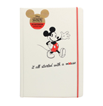 Mickey Mouse Libreta A5 It All Started With A Mouse