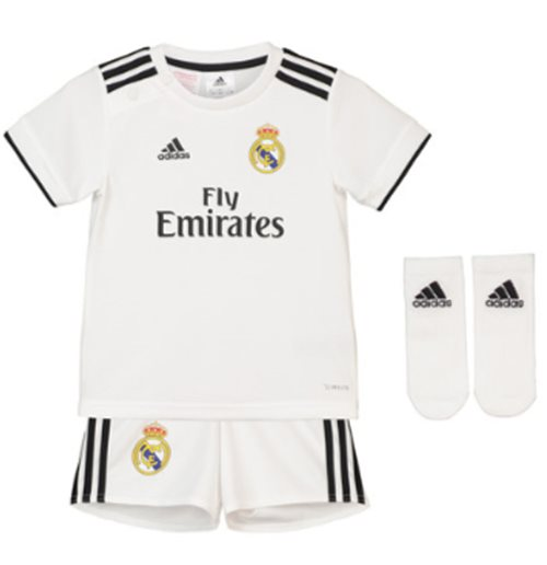 ced7dce3786bc Compra Equipación de fútbol para niño Real Madrid 2018-2019 Home