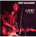 Vinilo Rory Gallagher - Live In Europe