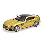 BRABUS 600 AUF BASIS MERCEDES BENZ AMG GT S 2016 GOLD