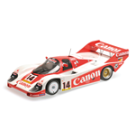 PORSCHE 956K CANON RACING ROSBERG LAMMERS 3RD PLACE 1000KM NURBURGRING 1983