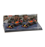 RED BULL RB12 SET WINNER AND SECOND PLACE RICCIARDO VERSTAPPEN MALAYSIAN GP 2016