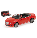 BENTLEY CONTINENTAL GT SPEED CABRIO ST. JAMES RED 2012