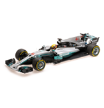 MERCEDES W08 EQ POWER+ LEWIS HAMILTON WINNER SPANISH GP WORLD CHAMPION 2017