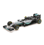 MERCEDES W07 HYBRID NICO ROSBERG ABU DHABI GP WORLD CHAMPION 2016