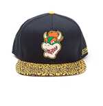 Nintendo Gorra Snapback Bowser Rubber Patch