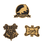 Harry Potter Pack 3 Chapas Hufflepuff