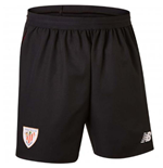 Shorts Athletic Bilbao 2018-2019 Home (Negro)