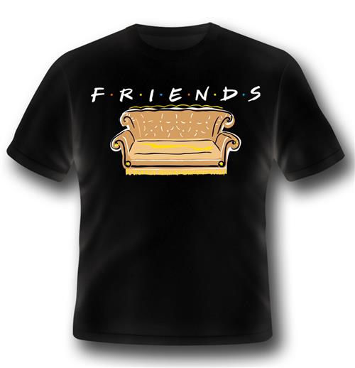 Camiseta Friends Series Logo And Sofa