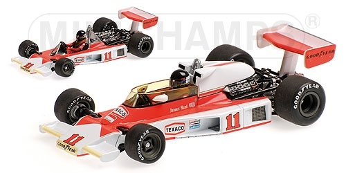 McLAREN FORD M23 JAMES HUNT WINNER DUTCH GP WORLD CHAMPION 1976