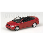 OPEL ASTRA CABRIOLET 2001 RED