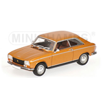 PEUGEOT 304 COUPE' 1970 GOLD METALLIC
