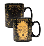 Star Wars Taza sensitiva al calor C-3PO
