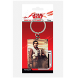 Star Wars Episode VIII Llavero metálico Poe Battle Ready 6 cm