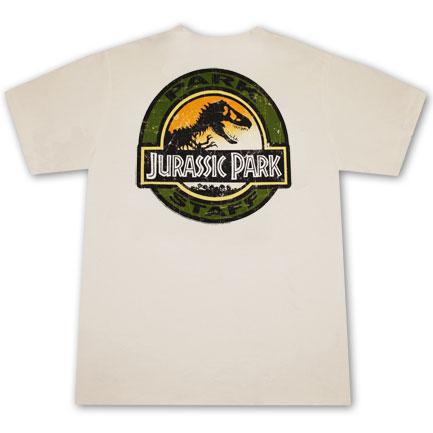 a16d4387b Camiseta JURASSIC PARK Staff Original  Compra Online en Oferta