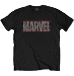 Camiseta Marvel Superheroes Distressed Box Logo