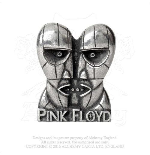 Chapita Pink Floyd - Design: Division Bell Heads