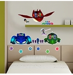 Vinilo decorativo para pared PJ Masks  307980